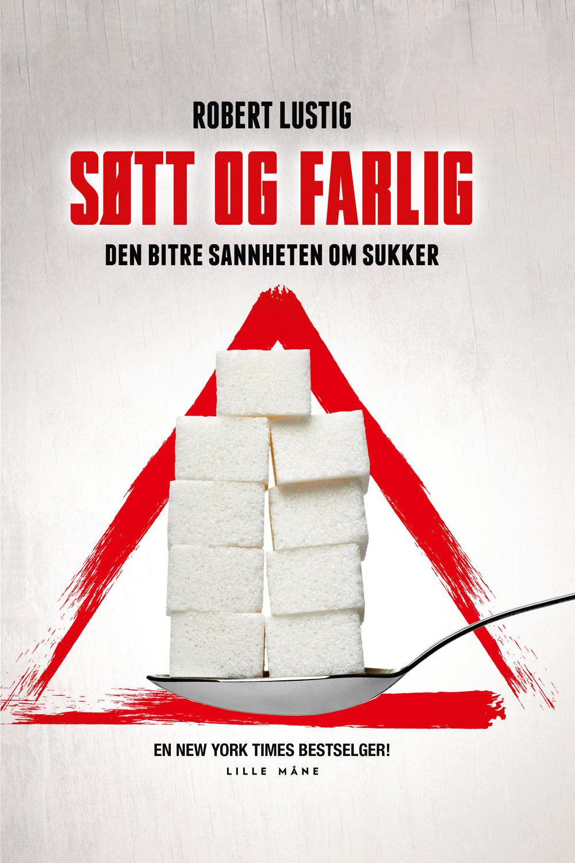 """Søtt og farlig - den bitre sannheten om sukker - av Robert LustigSannheten om sukker. Bytt ut sukker og industrimat med kvalitetsmat, få bedre helse og mer energi. Robert Lustigs banebrytende bok om sukker er på nå tilbud til kr 199,- (50%)Frigjør deg fra sukkersuget – en gang for alle. Sukker kommer i mange former og varianter. Hvorfor ikke skaffe deg kunnskapen og styrken til å leve et liv med mindre sukker som igjen gir deg bedre helse? Robert Lustig, professor og forsker, skriver oppsiktsvekkende og overbevisende i den ferske boken """"Søtt og farlig – den bitre sannheten om sukker"""".Endelig på norsk:Robert Lustigs banebrytende bok om sukkerets skadevirkninger!Lustig avslører hvordan sukker-, brus- og matvareindustrien bærer en stor del av ansvaret for dagens fedme- og diabetesproblematikk. Denne boken er proppfull av gode argumenter, dokumentasjon og oppsiktsvekkende avsløringer. I tillegg er den drivende godt skrevet."""
