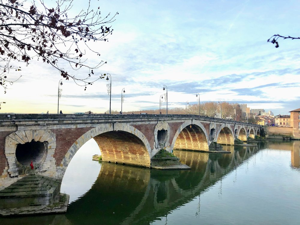 Pont Neuf Toulouse. Copyright @Thisgiantworld