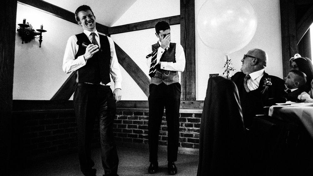 Best man speech. Cheshire wedding