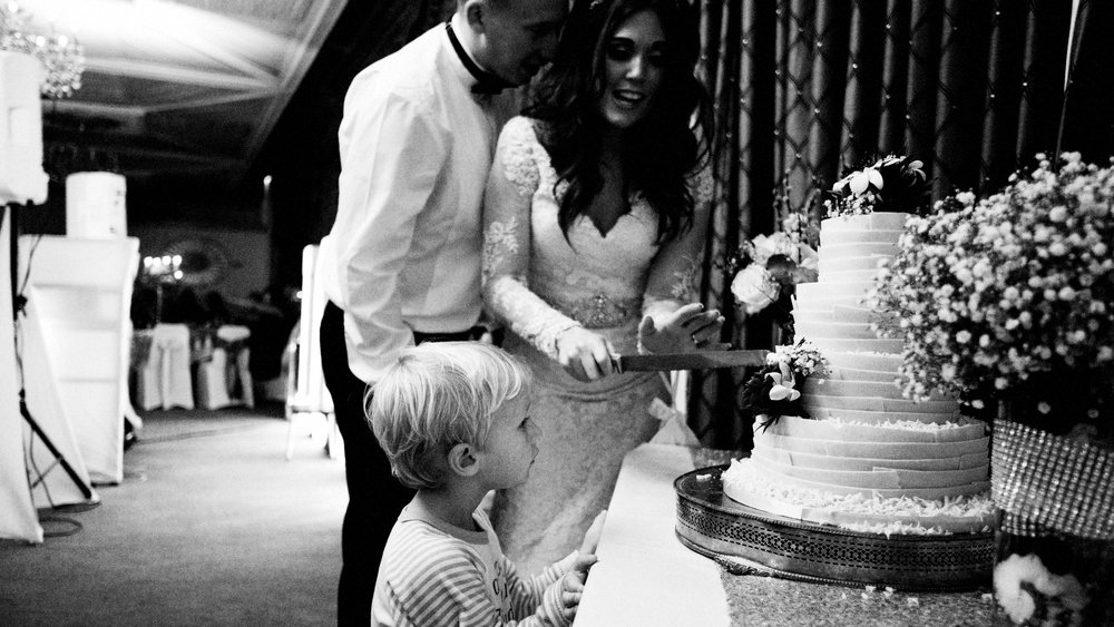 Family moment.  Manchester wedding