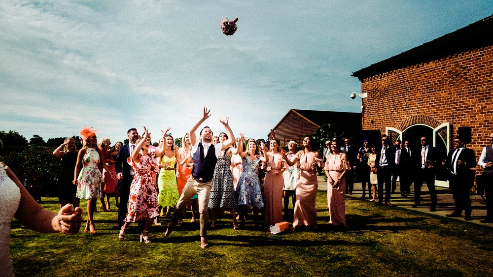 summer wedding at merrydale manor wedding venue in cheshire