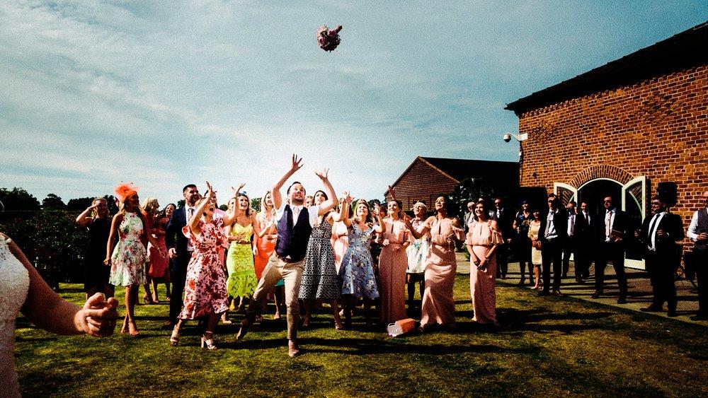 summer wedding at merrydale manor wedding venue in cheshire