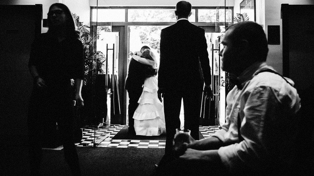an essex wedding in a ballroom