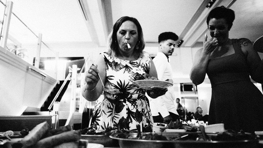wedding food essex