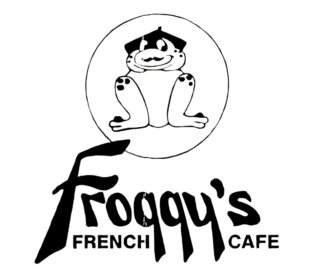 Froggys Black Logo.png