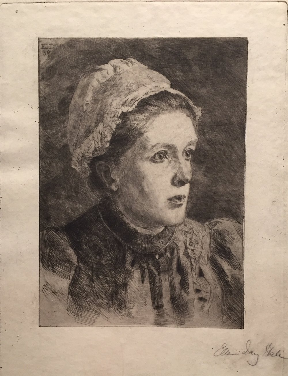 A Woman of Normandy, 1889 , Etching on paper