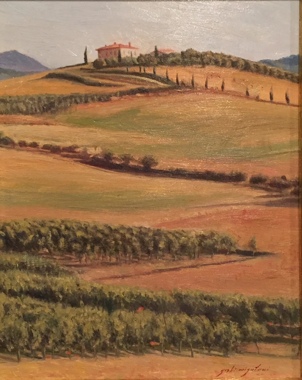 Landscape, Val d'Orcia, Tuscany