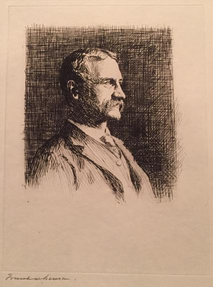 Portrait of Dr. Arthur T. Cabot
