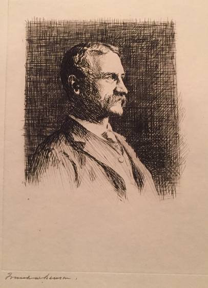 Portrait of Dr. Arthur T. Cabot