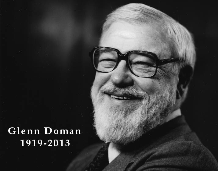 Glenn Doman, founder of The Doman Method, born 1919.