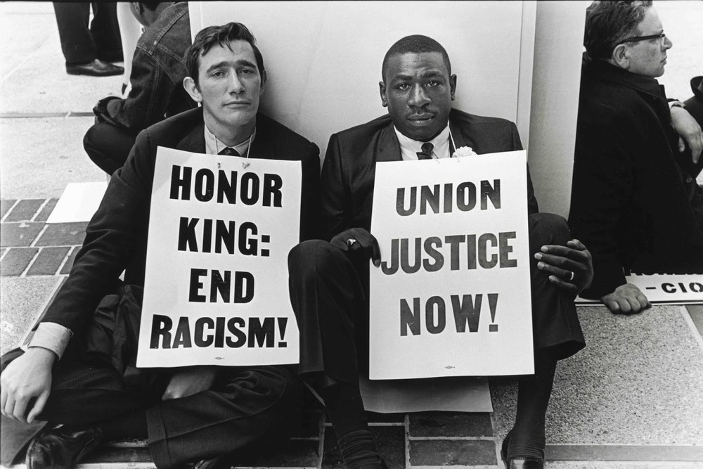THE KING'S LAST STAND - MARTIN is a non-violent typeface inspired by the placards carried by followers of Dr. Martin Luther King, Jr. during the Memphis Sanitation Strike of 1968.Memphis sanitation workers, the majority of them Black, went out on strike on February 12, 1968, demanding recognition for their union, better wages, and safer working conditions after two trash handlers were killed by a malfunctioning garbage truck.