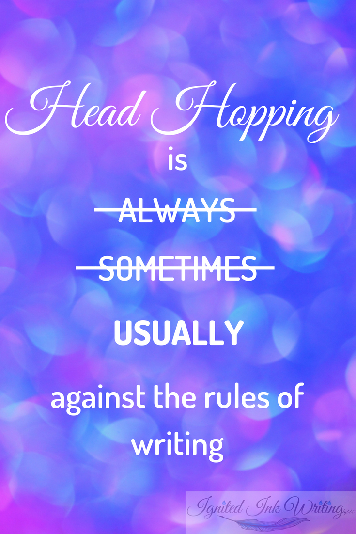 Writing rules are meant to be broken . . . sometimes. They clarify a writer's intentions and help them effectively communicate with readers. However, in certain situations, they have the opposite effect. As an author, you must learn when to break the rules and when to follow them.