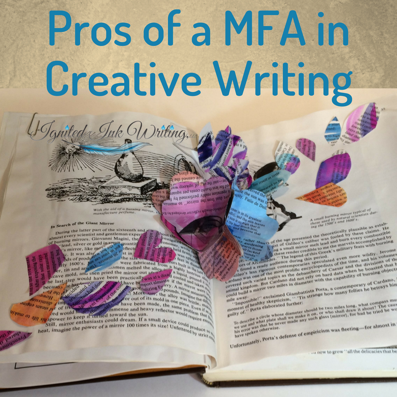 A MFA in Creative Writing is surrounded by myths of college teaching positions, publication, and more. If you're considering earning your MFA, you need to understand what the degree will actually get you and what it won't. I'm not certain mine was worth it. For a list of books to help you educate yourself about creative writing vetted by an editor and author, go to  https://www.ignitedinkwriting.com/13-writing-craft-books-list