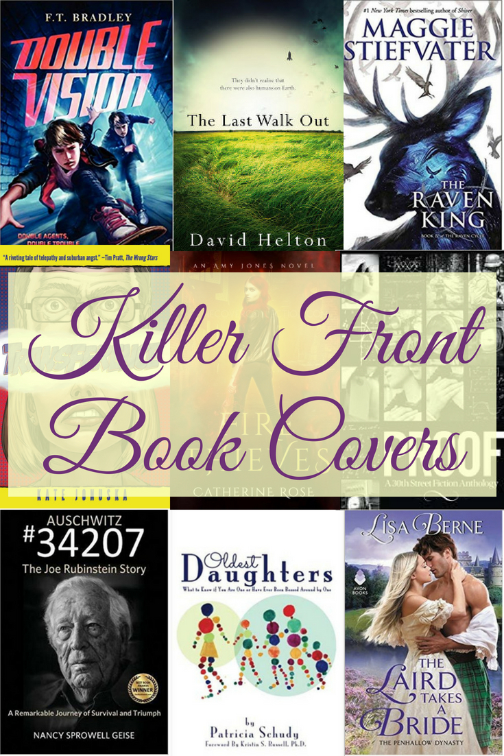 Emotional front book covers sell books. If your font, title, and graphics don't come together to convey an emotion and genre, your ideal reader won't pick up your story. In order to get your reader's attention, you have to design a cover for them, not you.  For a timeline showing when to design your cover, go to  https://www.ignitedinkwriting.com/timeline-of-a-book