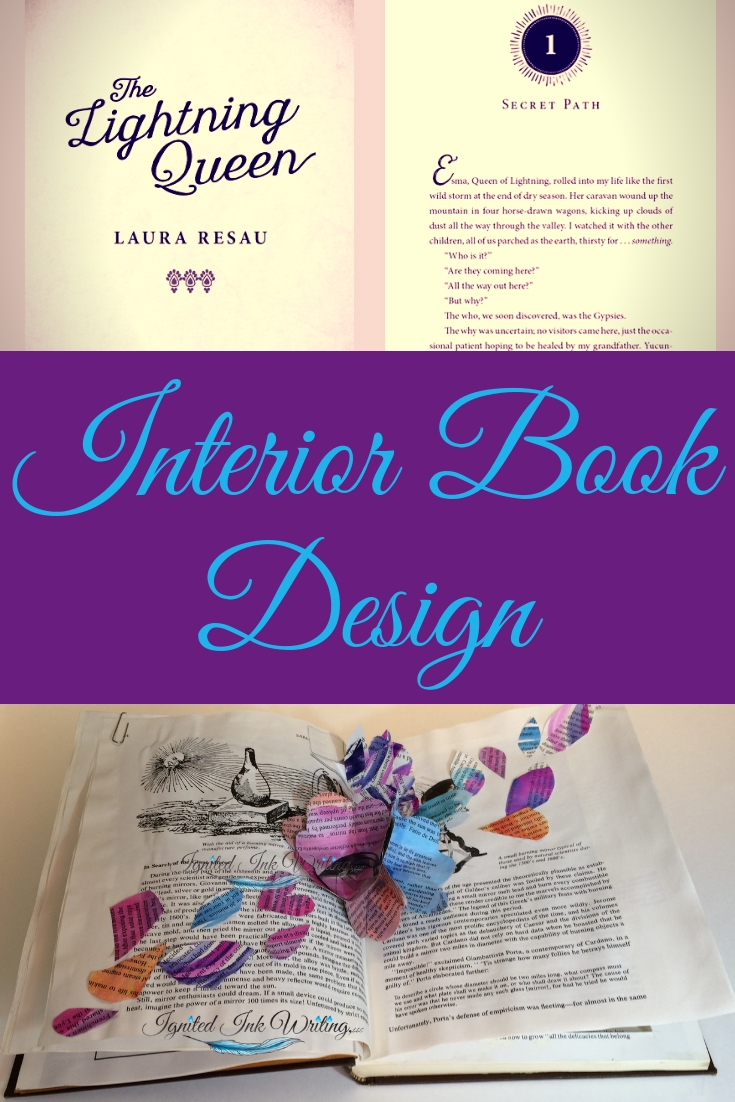 After you've written an irresistible book blurb and put together a captivating cover, you still have one more piece of design: the interior of your book. Your book's inside design disappears when done correctly and jars readers when incorrect. Interior book design is essential to your book's success. For a book design timeline, go to  https://www.ignitedinkwriting.com/timeline-of-a-book