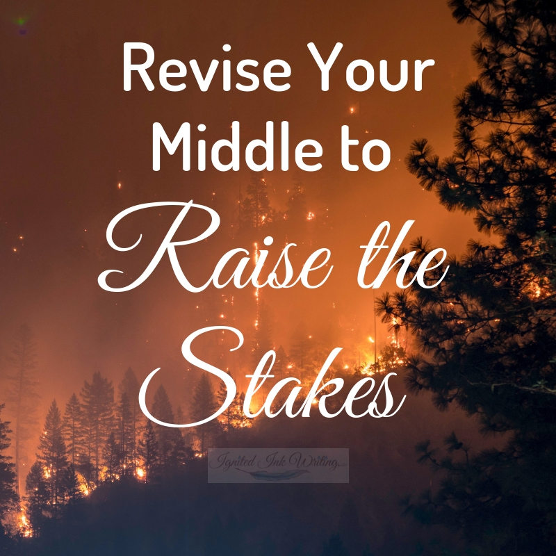 When revising your story, focus on the purpose of each section. Your beginning should hook. Your middle should=constantly raise the stakes, and your ending should leave an emotional impact. That's what you bring to the forefront during revision. For a free revision checklist, go to  https://www.ignitedinkwriting.com/revision-checklist