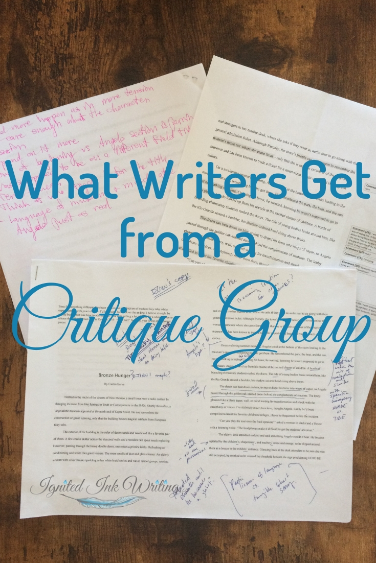 Getting feedback from other writers is one of the best things you can do for your story. They will see aspects that need improvement you are too close to see and be able to article how you can improve your writing, so I recommend all writers join a writers' critique group. For a revision checklist, go to  https://www.ignitedinkwriting.com/revision-checklist