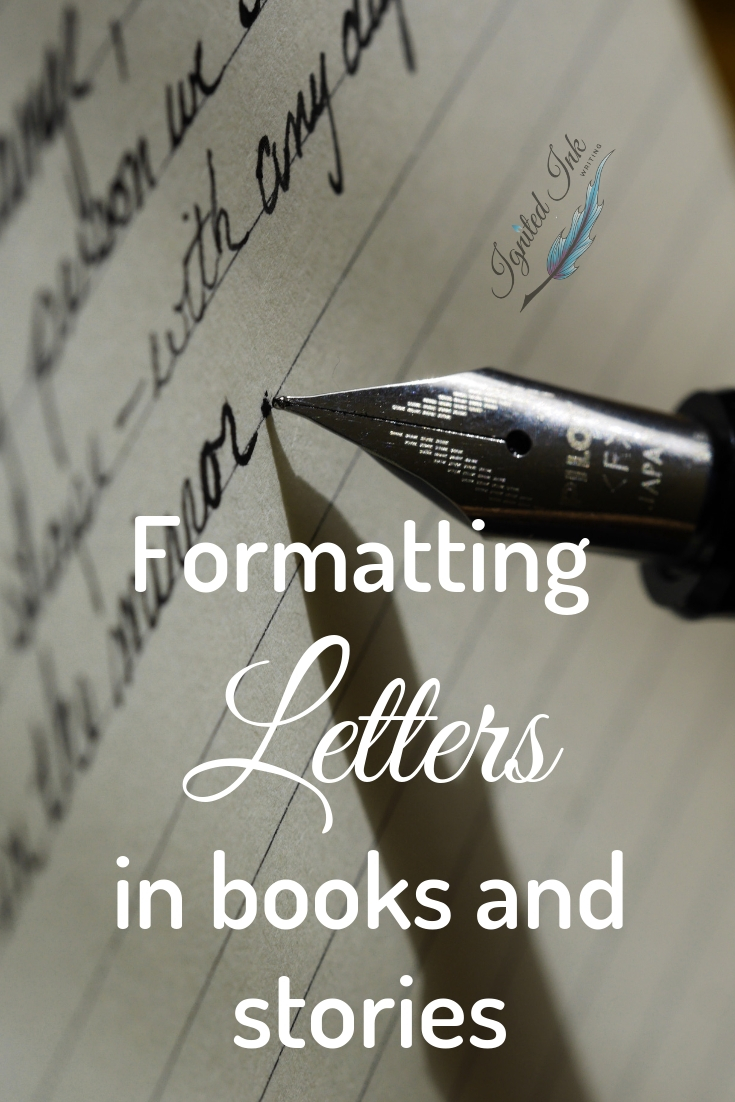 The words of your story aren't the only pieces of writing you might have. You might also want to include letters, notes, emails, text messages, IMs, or some other form of written communication. Learn the various formatting options you have to make it clear when your story's written documents begin and end.