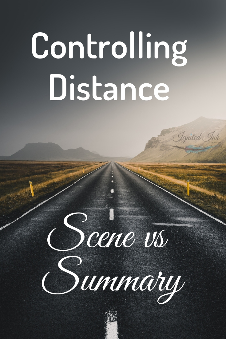 When a reader feels too distant from your piece, they are unable to connect with your characters, plot, and story. Without a connection, they might not finish your piece or recommend it to someone else. Luckily, distance is something you control through scenes, point of view, and tension.