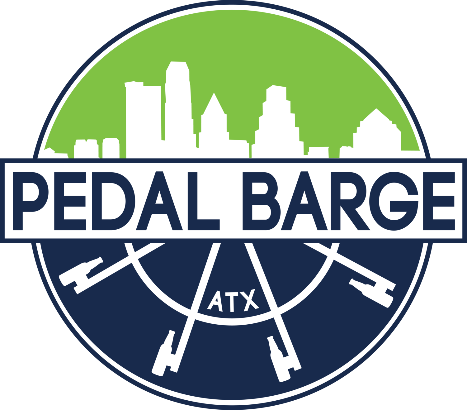 Pedal Barge