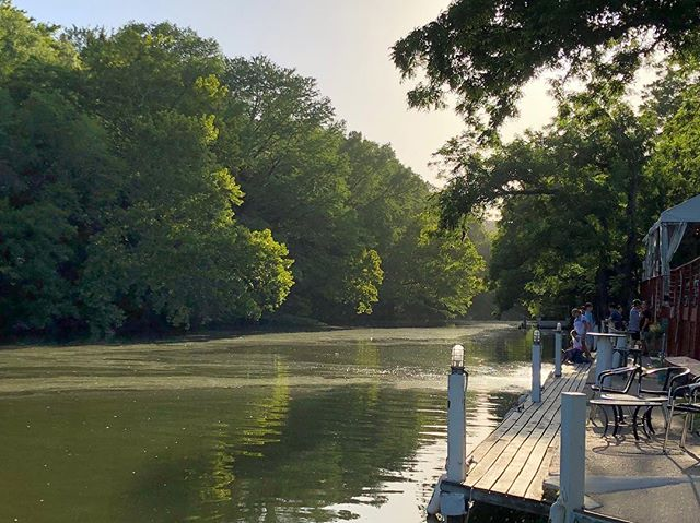 Beautiful scenes on Bull Creek outside @countylinelake Enjoy afternoons like this on a river cruise! #PedalBarge #ATX #Austin #AustinTexas #AustinTX