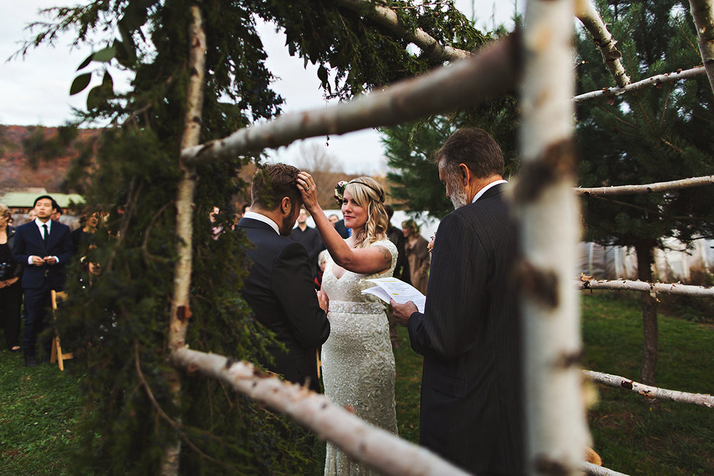 Grace & Mike, Blooming Hill Farm NY