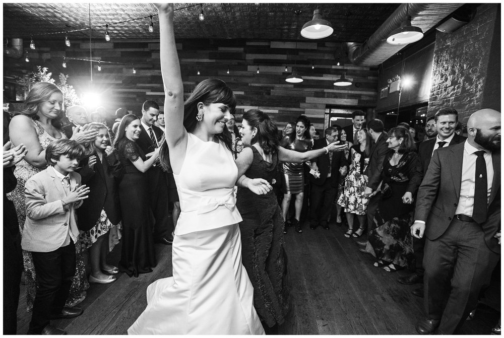 brooklyn winery wedding reception hora