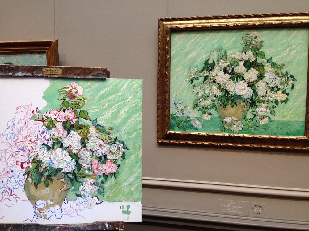 In Progress, Interpretation of Van Gogh