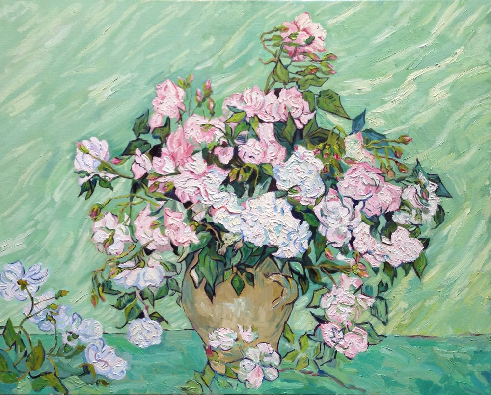 Van Gogh, Roses supposition