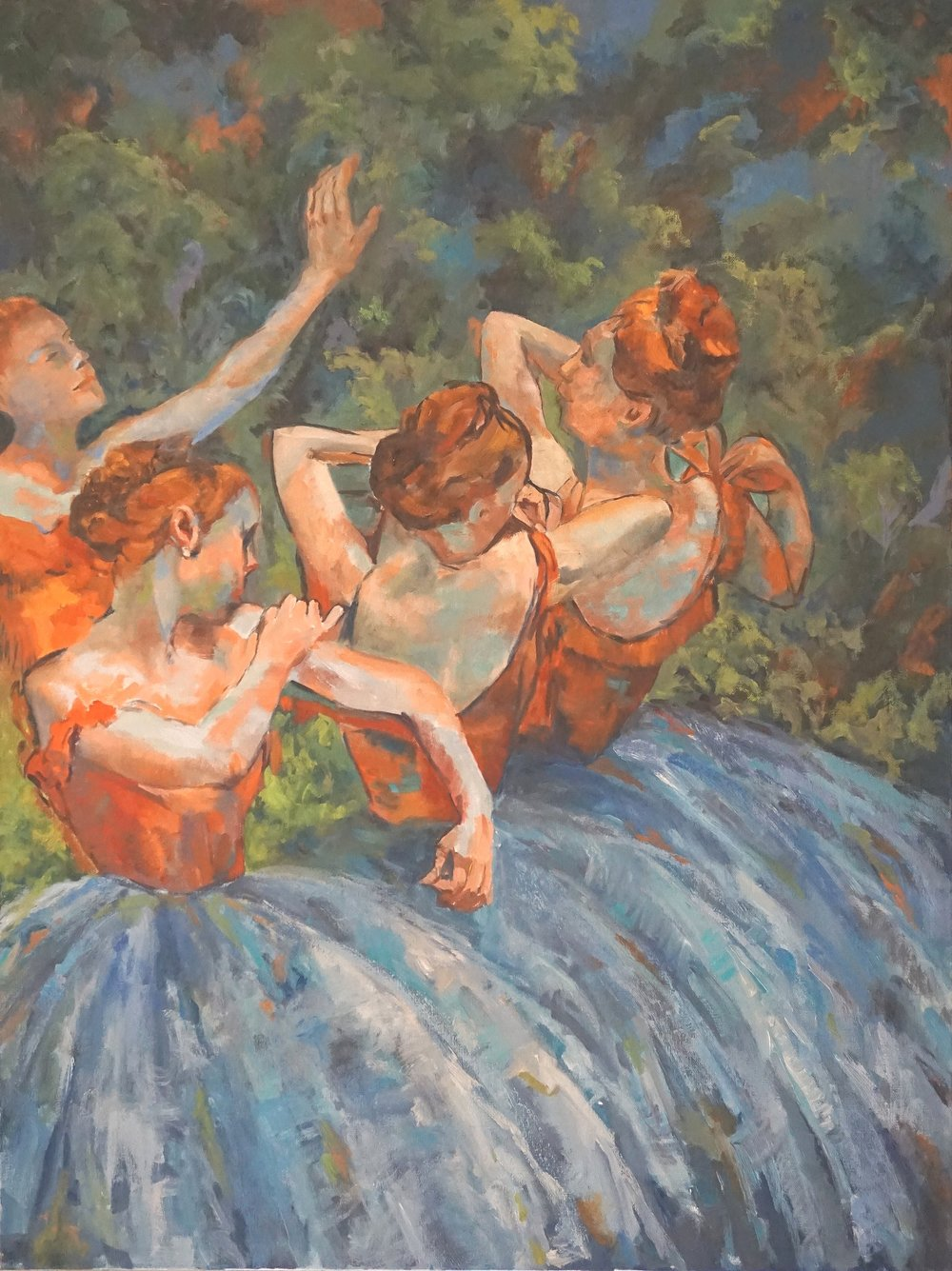 Interpretation of Edgar Degas