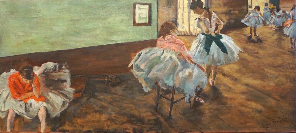 Copy of Edgar Degas