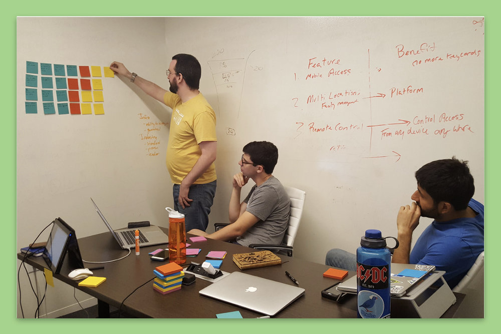 Collaborate:Company norms and products were redesigned via facilitation and user testing -