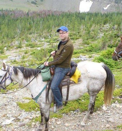 Happy trails, in Waterton–Glacier International Peace Park.
