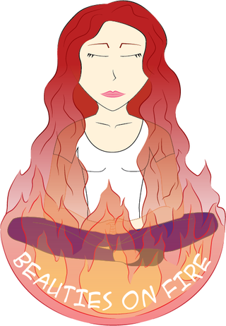 Beauties on Fire Logo