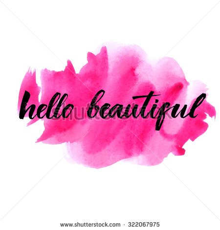 stock-vector-hello-beautiful-vector-lettering-with-hand-drawn-heart-calligraphy-phrase-for-gift-cards-baby-322067975