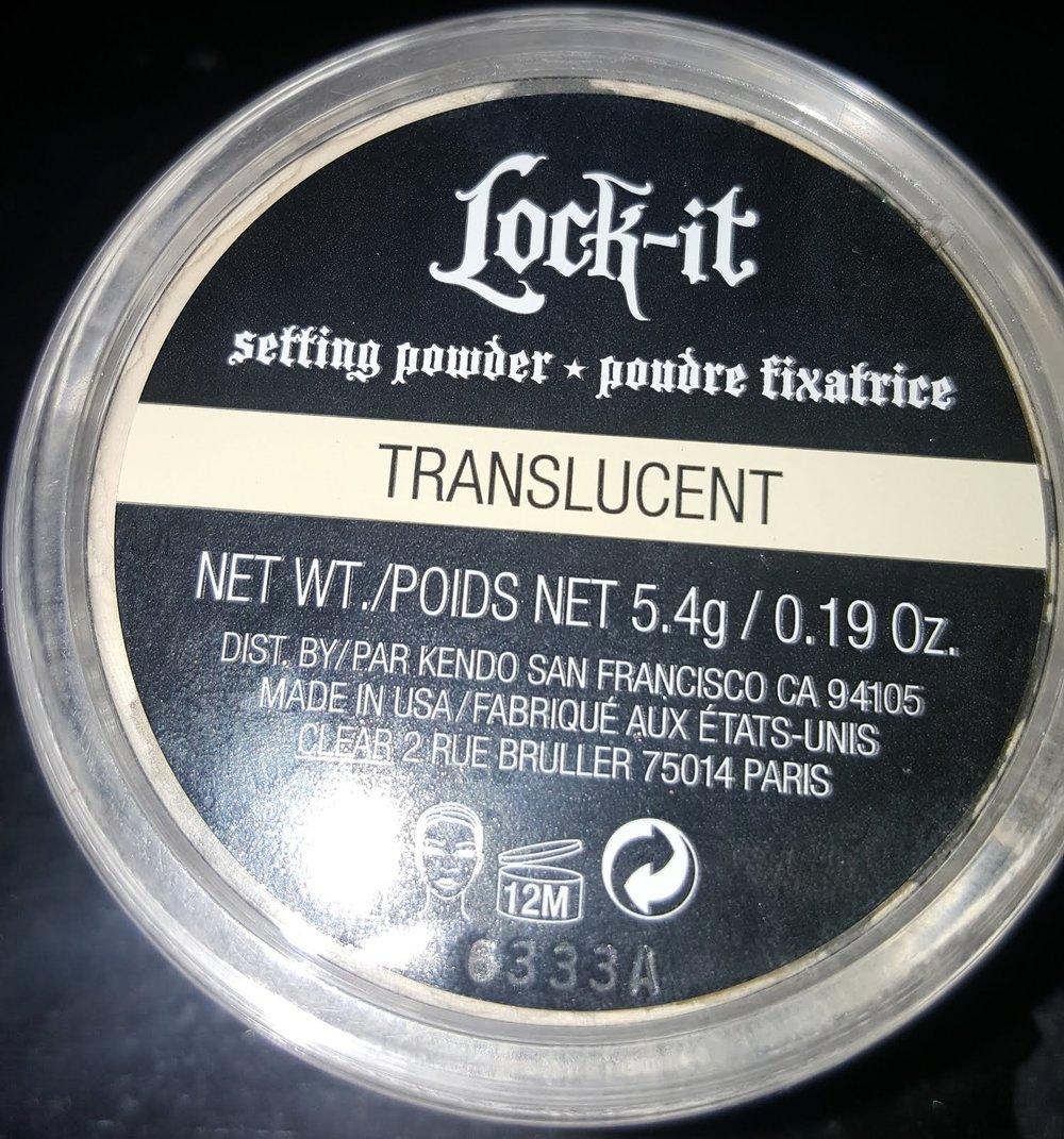 Kat Von D Lock-It Setting Powder-$30.00 -