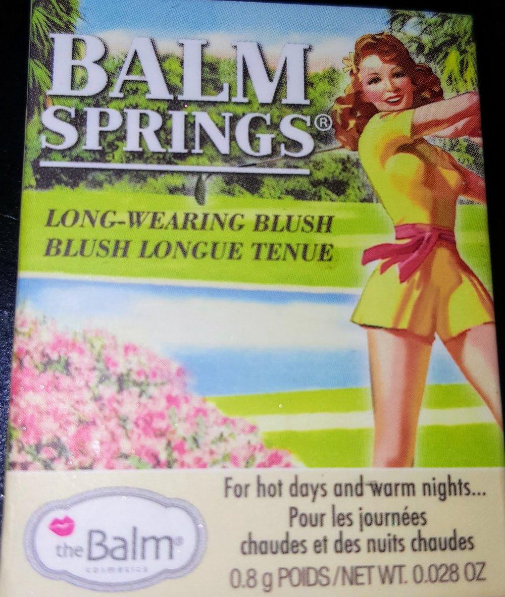 theBalm- Balm Springs Blush - - $21.00