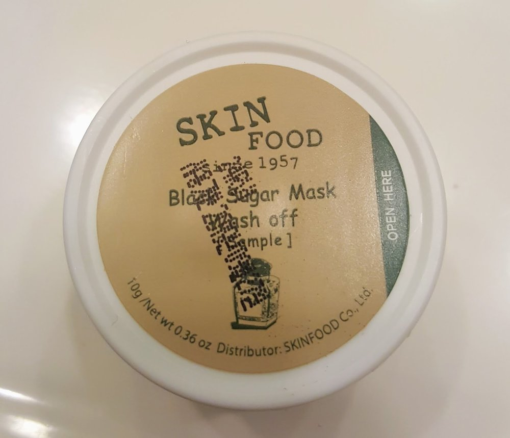 SkinFood Black Sugar Mask $10 -