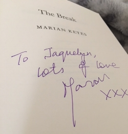 Marian Keyes book signing.JPG
