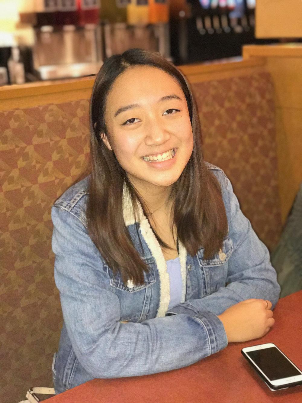 Leanna Feng,  B-Status Committee Treasurer