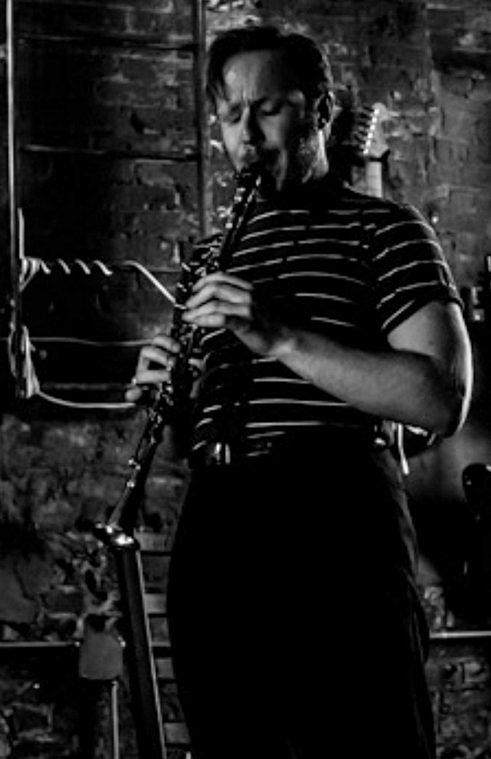 Stan Zenkoff - clarinet & saxophone  image: Peter Gannushkin