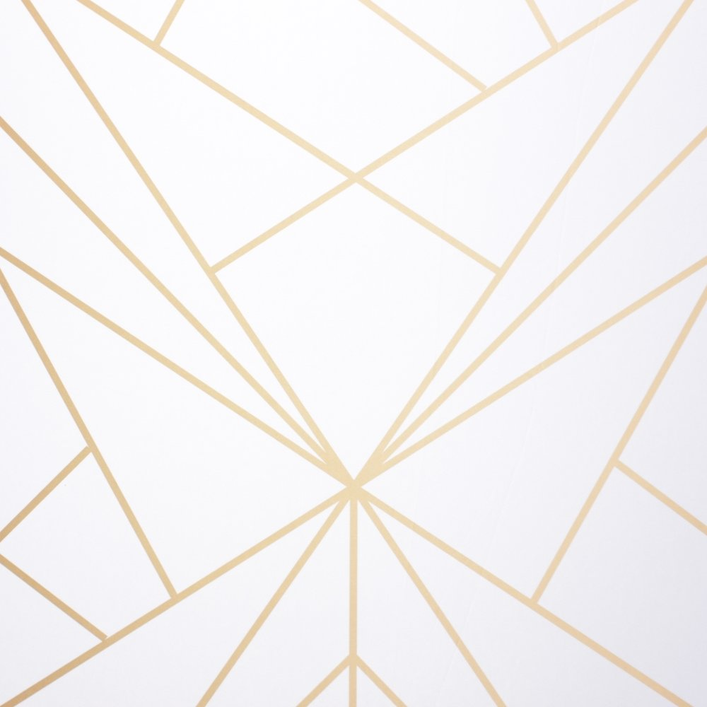 Geometric White - Our Geometric White is bold and modern. This clean backdrop is sure to turn heads.