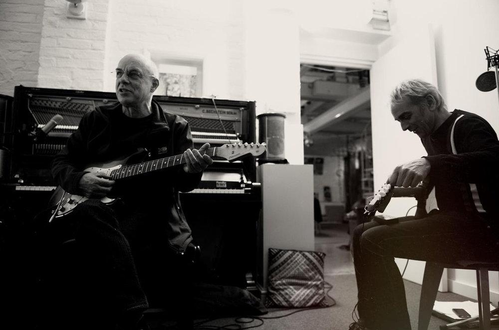 Brian Eno (Left)