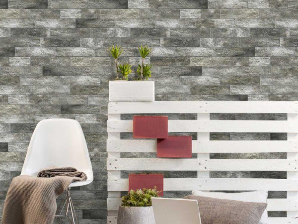 Interlarken Brick Series - Craving a more urban, New York loft look for your home? The Interlarken Brick series is a realistic, modern brick look, complete with textured brick like surface. There are various print screens which enable you to create a more random brick design.Available in 4 colours: White, Grey, Rust and Nero and 70 x 300mm size format.