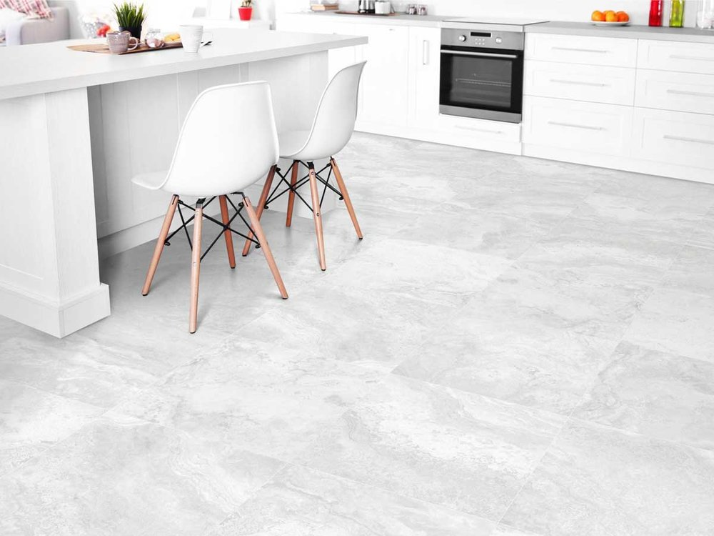 New Travertine - The New Travertine range is a combination of two distinct varieties, Vein-Cut and Cross-Cut.  The mixture of the two types provides a unique look and style. The range is available in 3 colourways: White, Beige and Grey; as well as 4 size formats: 300 x 300mm, 300 x 600mm, 600 x 600mm and 450 x 900mm.
