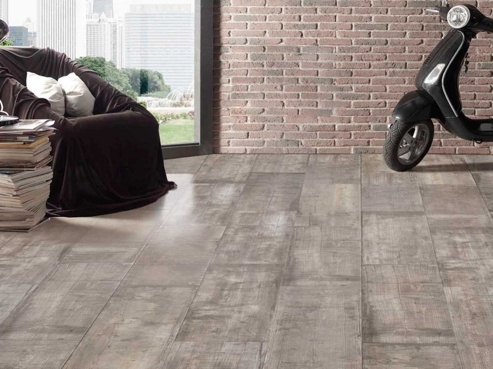 Timberland Range - The Timberland is a beautifully designed, aged timber look floor tile.  It has been developed with a P3 slip rating which means it is suitable for both internal and some external applications, creating an internal to external flow. Available in 4 colours: White, Natural, Grey and Black.