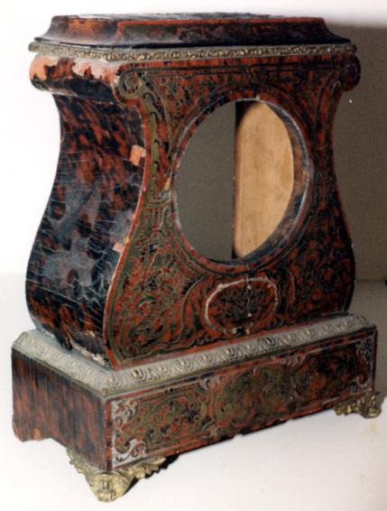 19th Century French Turtleshell Clock