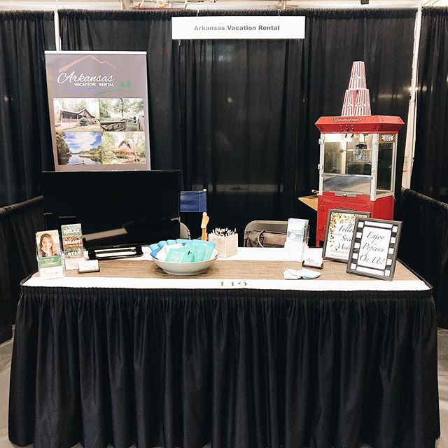 ⭐️ Our booth is set up & we are ready to go! See you tomorrow from 11:00 AM - 5:00 PM at the 2018 Business Expo ⭐️