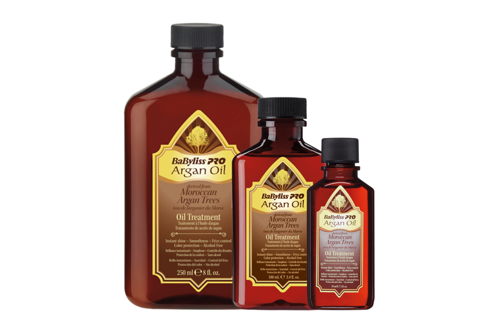 1. Treatment Oil - Online reviewers all attest to the many benefits! This product helps make hair silky soft & smooth without leaving it greasy.Use pre-blowdry to detangle and protect and post-blowdry for incredible shine.Not to mention it smells amazing!