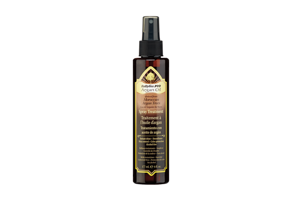 3. Spray Treatment - Incredibly lightweight and silky for all hair types. Spray on wet or dry with no oily residue.Highly regarded amongst online reviewers for having noticable, long lasting results.No more dry hair! This smooths hair cuticles to help eliminate frizz and repair dry, damaged hair.